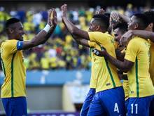 Brasilien will im eigenen Land die Goldmedaille