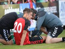 Marc-Oliver Kempf verletzte sich in der Partie gegen Darmstadt schwer