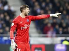 Kevin Trapp blieb beim Auftaktsieg von St. Germain ohne Gegentor