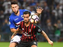 Milan siegte in Genua gegen Sampdoria