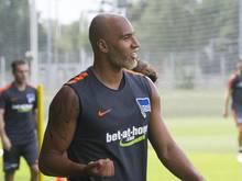 Der Berliner John Anthony Brooks ist zurück auf dem Trainingsplatz