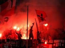 In der vergangenen Saison gab es weniger Pyrotechnik in den deutschen Stadien