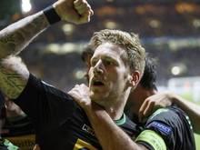 André Hahn traf gegen Celtic