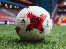 """Der von adidas für den Confed Cup zur Verfügung gestellte offizielle Spielball heißt """"Karasava"""""""