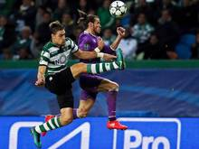 Gareth Bale (r.) hat sich eine Verletzung im rechten Sprunggelenk zugezogen