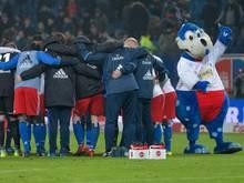 Der Hamburger SV stimmt sich auf das nächste Sechs-Punkte-Spiel ein