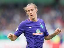 Max Kruse konnte nach seiner Knöchelverletzung das Abschlusstraining bei Werder Bremen absolvieren.