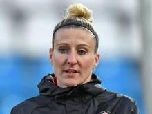 Anja Mittag erzielte das 1:0 für Wolfsburg. Foto: Hendrik Schmidt