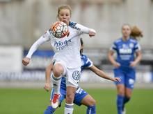 Katrin Schmidt steht vor ihrem ersten Länderspiel für Schweden