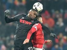 Anthony Modeste (l.) blieb gegen Mainz ohne Treffer