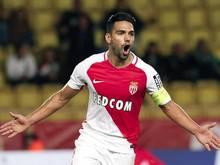 Falcao erzielte den entscheidenden Treffer zum Sieg des AS Monaco