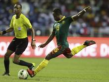 Sebastien Siani und seine Kameruner sind beim Confederations Cup Gruppengegner des DFB-Teams