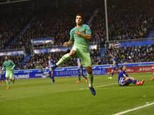 Luis Suárez gelingt gegen die Basken ein Doppelpack. Im Finale der Copa del Rey ist er aber gesperrt