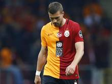 Lukas Podolski musste mit Galatasaray eine bittere Heimniederlage hinnehmen
