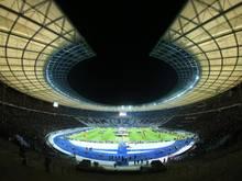 Das Olympiastadion gilt für die EM-Bewerbung als gesetzt