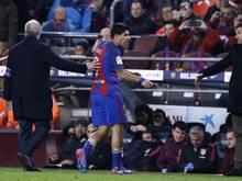 Luis Suárez ist für zwei Pokalpartien gesperrt worden