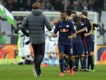Verfolger RB Leipzig hat nur fünf Punkte Rückstand auf Spitzenreiter FC Bayern München
