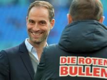 Klubchef Oliver Mintzlaff sieht einer Champions-League-Teilnahme positiv entgegen