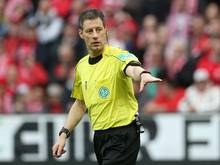 Schiedsrichter Wolfgang Stark steht vor seinem 340. Bundesliga-Einsatz.
