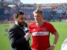 Bastian Schweinsteiger steht in der Mannschaft der Woche der MLS
