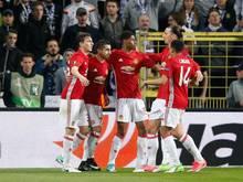 Manchester United ist auf Halbfinalkurs