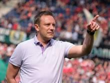 Trainer André Breitenreiter will mit Hannover 96 aufsteigen