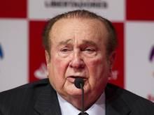 Der frühere Conmebol-Präsident Nicolás Leoz steht bereits in Paraguay unter Hausarrest
