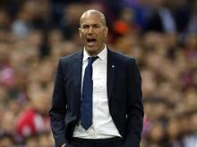 Zinédine Zidane freut sich auf den Final-Klassiker gegen Juventus Turin
