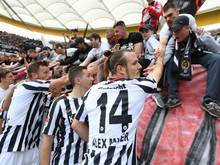 Frankfurt kann erstmals seit 29 Jahren wieder Pokalsieger werden