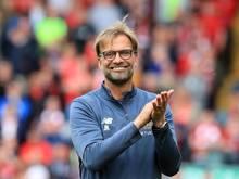 Jürgen Klopp freute sich über das Erreichen der CL-Playoffs