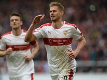 Zweitliga-Torschützenkönig Simon Terodde bleibt dem VfB Stuttgart treu