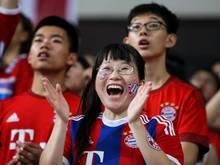 Der chinesische Markt wird für die Bundesligisten immer interessanter