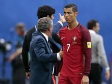 Derzeit keine Frohnatur: Cristiano Ronaldo