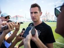 Miroslav Klose ist guten Mutes für die Zukunft des DFB-Teams