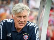 Bayern-Trainer Carlo Ancelotti freut sich auf das Testspiel gegen seinen ehemaligen Verein AC Mailand