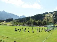RB Leipzig bereitet sich im österreichischen Seefeld auf die Saison vor.