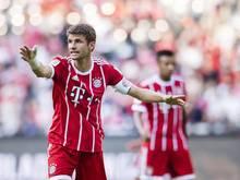 Thomas Müller beim 0:4 gegen den AC Mailand