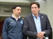 Ilia Gruev und Ivica Grlić wollen sich langfristig in der 2. Liga etablieren