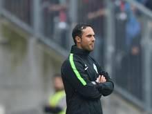 Bremens Trainer Alexander Nouri lässt im Trainingslager unter Ausschluss der Öffentlichkeit trainieren
