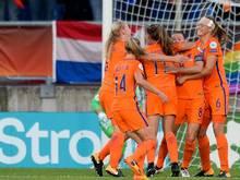 Die Niederländerinnen konnten alle Vorrundenspiele für sich entscheiden