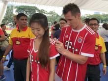 Miro Klose ist derzeit mit dem FC Bayern in Asien unterwegs