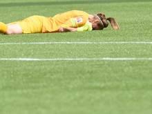 Karen Bardsley erlitt im Viertelfinale gegen Frankreich einen Beinbruch