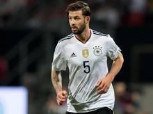 Marvin Plattenhardt im Trikot der deutschen Nationalmannschaft