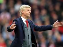 Trainer Arsène Wenger wirkte nach dem Spiel ratlos