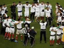 Mexikos Spieler feiern die Qualifikation für die WM