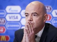 Schwer unter Druck: FIFA-Präsident Gianni Infantino