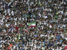 Beim WM-Qualifikationspiel Iran gegen Syrien durften keine weiblichen Fans des Gastgebers ins Stadion