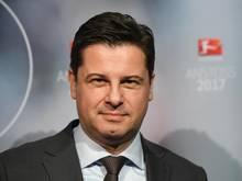 Sorgte mit seiner Kritik für Aufmerksamkeit: DFL-Boss Christian Seifert