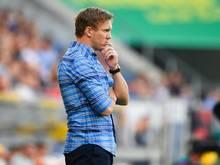 Hoffenheims Trainer Julian Nagelsmann will mit seinem Team endlich in der Europa League punkten
