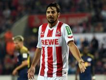 Kölns Claudio Pizarro spielte lange für den SV Werder Bremen